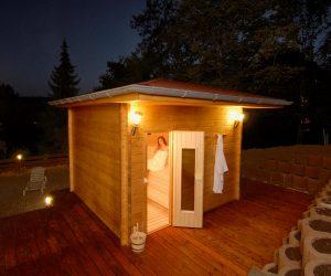 Finnische Sauna Kurhaus Kšnig